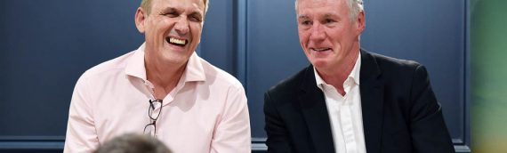 TLICN:  Legends in the City With Frank Stapleton and Tony Cascarino